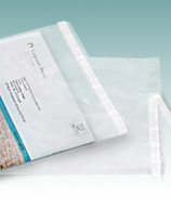 Clear Lip-n-Tape Postal Approved Mailing Bags