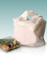 Standard Biodegradable Take Out Bags