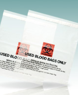 Used Blood Transport Bags