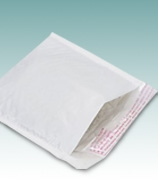 White Kraft Bubble Mailers