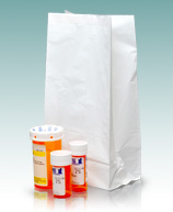 White Pharmacy Bags