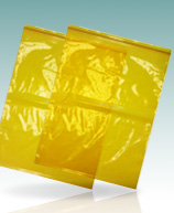 Lab-Loc© Yellow Tint Specimen Transfer Bags