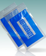 Blue Refrigerate Printed Bags