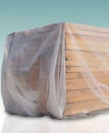 2 Mil Clear Poly Sheeting Tarps