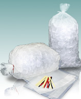Plain Metallocene Ice Bags