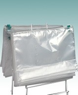 Saddle Pack Slide Seal Zipper Lock Vented Produce Bags
